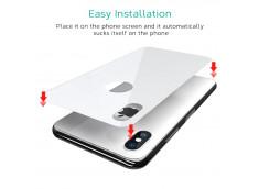 Verre Trempé Arrière iPhone X-Blanc