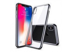 Coque iPhone X Silver Flex