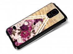 Coque Samsung Galaxy S5 Pink Floral