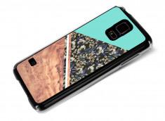 Coque Samsung Galaxy S5 Blue Floral