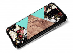 Coque Samsung Galaxy S5 Red Floral