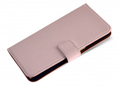 Etui Sony Xperia E4 Leather Wallet-Rose