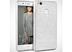Coque Huawei P8 Lite 2017 Glitter Protect-Argent