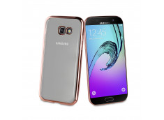Coque Samsung Galaxy A3 2017 Rose Gold Flex