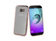 Coque Samsung Galaxy J7 2017 Rose Gold Flex