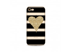 Coque iPhone 7Gold Heart