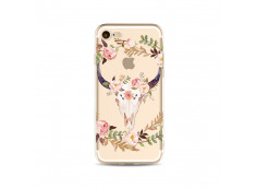 Coque iPhone 5/5S/SE Flower Cow