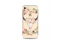 Coque iPhone 5/5S/SE Flower Cow