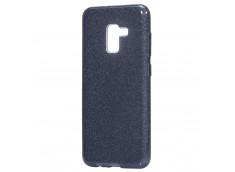 Coque Samsung Galaxy J6+ 2018 Glitter Protect-Noir