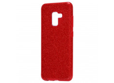 Coque Samsung Galaxy J6 2018 Glitter Protect-Rouge