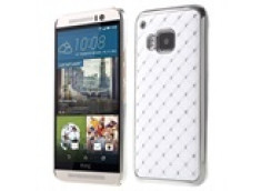 Coque HTC One M9 Luxury leather-Blanc