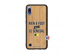 Coque Samsung Galaxy A10 Rien A Foot Allez Le Senegal Bois Bamboo