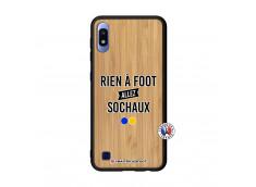 Coque Samsung Galaxy A10 Rien A Foot Allez Sochaux Bois Bamboo