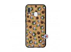 Coque Samsung Galaxy A20e Coco Bois Bamboo