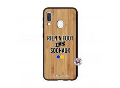 Coque Samsung Galaxy A20e Rien A Foot Allez Sochaux Bois Bamboo