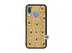 Coque Samsung Galaxy A40 Avocats Bois Bamboo