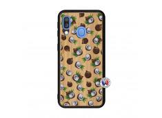 Coque Samsung Galaxy A40 Coco Bois Bamboo