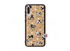 Coque Samsung Galaxy A50 Cow Pattern Bois Bamboo
