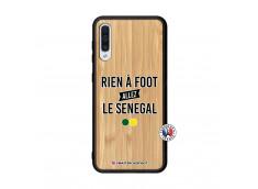 Coque Samsung Galaxy A50 Rien A Foot Allez Le Senegal Bois Bamboo