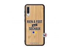 Coque Samsung Galaxy A50 Rien A Foot Allez Sochaux Bois Bamboo