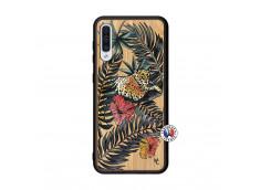 Coque Samsung Galaxy A50 Leopard Tree Bois Bamboo