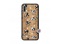 Coque Samsung Galaxy A70 Cow Pattern Bois Bamboo