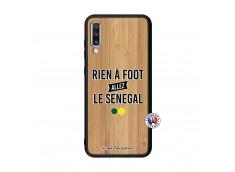 Coque Samsung Galaxy A70 Rien A Foot Allez Le Senegal Bois Bamboo