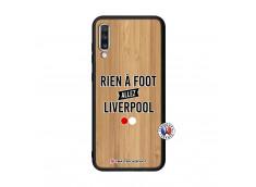 Coque Samsung Galaxy A70 Rien A Foot Allez Liverpool Bois Bamboo