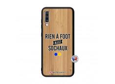 Coque Samsung Galaxy A70 Rien A Foot Allez Sochaux Bois Bamboo