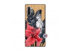 Coque Samsung Galaxy Note 10 Plus Papagal Bois Bamboo
