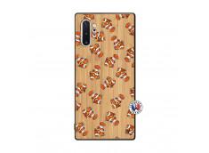Coque Samsung Galaxy Note 10 Plus Petits Poissons Clown Bois Bamboo