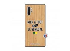 Coque Samsung Galaxy Note 10 Plus Rien A Foot Allez Le Senegal Bois Bamboo