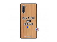 Coque Samsung Galaxy Note 10 Rien A Foot Allez Sochaux Bois Bamboo