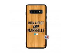 Coque Samsung Galaxy S10 Plus Rien A Foot Allez Marseille Rien A Foot Allez Marseille