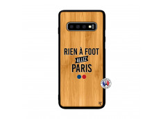 Coque Samsung Galaxy S10 Plus Rien A Foot Allez Paris Rien A Foot Allez Paris