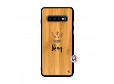 Coque Samsung Galaxy S10 Plus King Bois Bamboo