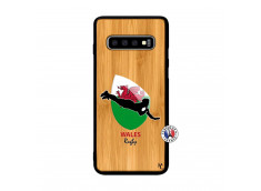 Coque Samsung Galaxy S10 Coupe du Monde Rugby-Walles Bois Bamboo