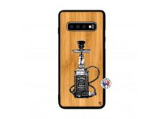 Coque Samsung Galaxy S10 Jack Hookah Bois Bamboo