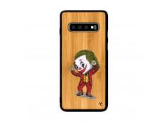Coque Samsung Galaxy S10 Joker Dance Bois Bamboo