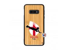 Coque Samsung Galaxy S10e Coupe du Monde Rugby-England Bois Bamboo