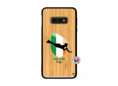 Coque Samsung Galaxy S10e Coupe du Monde Rugby-Ireland Bois Bamboo