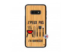 Coque Bois Samsung Galaxy S10e Je Peux Pas J Ai Barbecue
