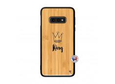 Coque Samsung Galaxy S10e King Bois Bamboo