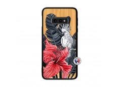 Coque Samsung Galaxy S10e Papagal Bois Bamboo