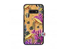 Coque Samsung Galaxy S10e Aquaworld Bois Bamboo