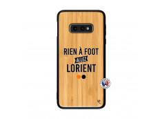 Coque Samsung Galaxy S10e Rien A Foot Allez Lorient Bois Bamboo
