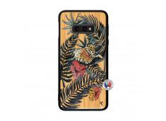 Coque Samsung Galaxy S10e Leopard Tree Bois Bamboo
