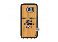 Coque Samsung Galaxy S7 Edge Frappe De Batard Comme Benjamin Bois Bamboo