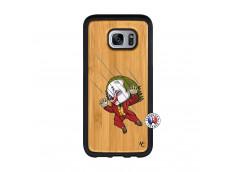 Coque Samsung Galaxy S7 Edge Joker Impact Bois Bamboo