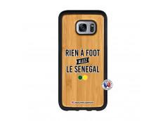 Coque Samsung Galaxy S7 Edge Rien A Foot Allez Le Senegal Bois Bamboo